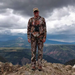 Dr Brenda View from Colorado Elk Hunt