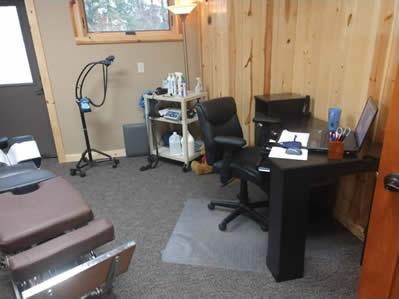 Dr. Brenda's treatment room