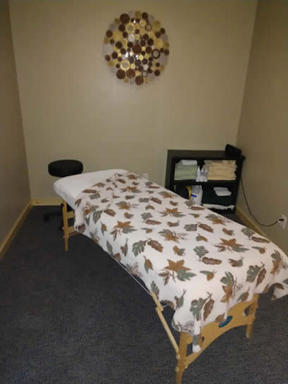 Cable Chiropractic Clinic Massage Room